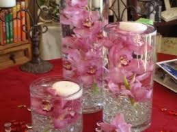 flower arrangements with lights weddings