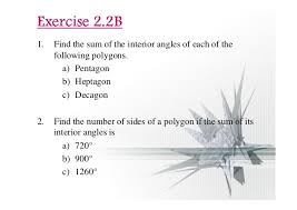 Interior Angle Sum Of A Decagon Chapter 2 Polygons Ii Compatibility Mode