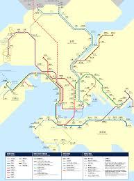Shenzhen Metro Map Futuremtrnetworkaftermerger Png