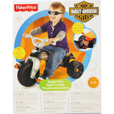 Harley Davidson Baby Bed Set Fisher Price Harley Davidson Motorcycles Tough Trike Walmart Com