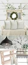 neutral farmhouse style living room liz marie blog
