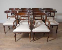 William Iv Dining Chairs with 10 English William Iv Dining Chairs Regency Chair Ebay
