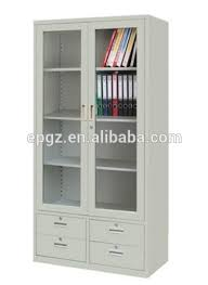 Metal Bookcase With Glass Doors File Cabinet Design File Cabinet Bookshelf Glass Doors Metal