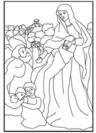 free coloring saint frances rome schola rosa op