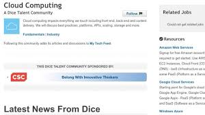 dice resume search the best places to post your resume depending on your field