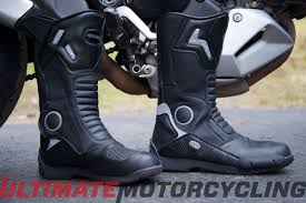 motorcycle road boots online gear test joe rocket ballistic touring boot review