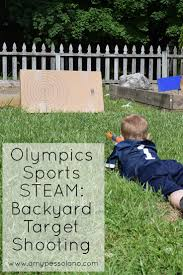 olympic sports steam backyard target shooting summer olympics
