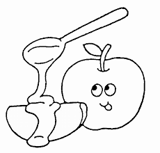 apple and honey coloring pages get coloring pages