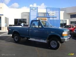 1996 ford f250 4x4 1996 reef blue metallic ford f250 xl regular cab 4x4 38549026