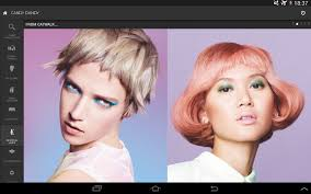 Try On Hair Color App House Of Color Android Apps On Google Play