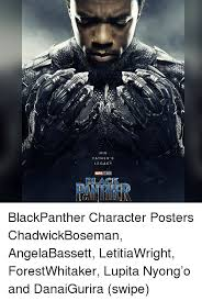 Black Fathers Day Meme - his father s legacy dlack blackpanther character posters