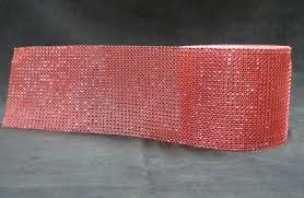 bling ribbon bling rhinestone 1 yard
