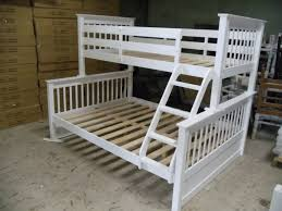 White Bunk Bed Frame Paloma Twin Double Bunk Bed Frame White Winnipeg Furniture