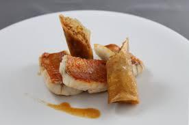cuisiner des rougets recette de dos de rouget barbet stick de nem épicé par alain ducasse