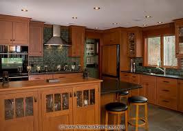 mission style oak kitchen cabinets craftsman style kitchen design portfolio gallery of