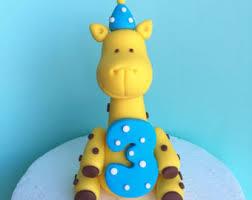 giraffe cake baby giraffe cake topper