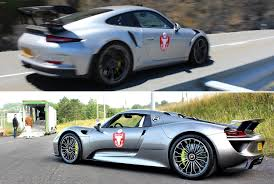 Porsche 918 Back - a bit of spanish perfection back roads from bilbao to madrid in a