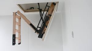 skylark electric foldaway attic stairs youtube