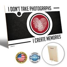 zendori art u0027i don u0027t take photographs i create memories u0027 wall art