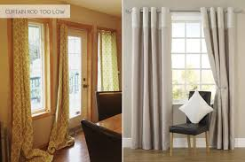 How To Hang Sheers And Curtains Hanging Curtains All Wrong Emily Henderson