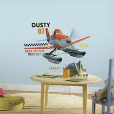 disney planes fire u0026 rescue dusty giant wall decals roommates