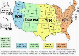us map time zones with states map time zones usa map of usa states