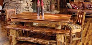 Rustic Dining Room Table And Chairs Bench Rustic Dining Room Table Set Amazing Rustic Wood Bench