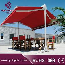 Free Standing Canopy Patio Outdoor Double Canopy Umbrella Freestanding Canopy Awning Canopy