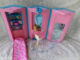 Little Tikes My Size Barbie Dollhouse by Barbie Home And Office Playset Case 1984 I Bought This Set On E