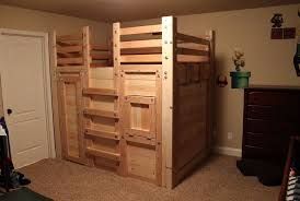 bunk bed building plans twin over full home design ideas