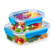 Food Container Storage 2pcs Plastic Food Containers Bento Lunch Box Bpa Free Usa Tritan