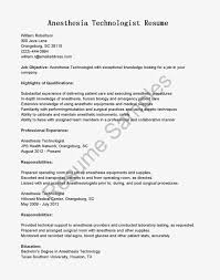 network technician resume sample 12 anesthesia technician resume sample xpertresumes com anesthesia technician technologist resume highlights of qualifications