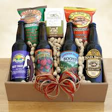 california gift baskets california microbrew and snack gift california delicious
