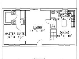 Concrete Floor Plans Amazing 1 Story Home Plans 5 Single House Floor Loversiq
