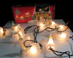 vintage xmas lights etsy