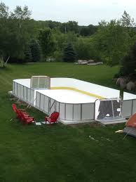 Build A Backyard Ice Rink Synthetic Ice Rink For Backyard Or Basement Don U0027t Make Me Do It