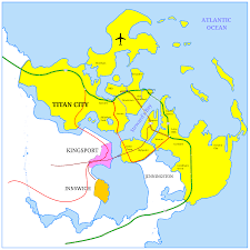 World Of Work Map by A World Of Titans City Of Titans