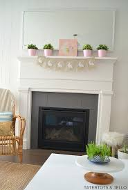 easter mantel decorations easter mantel decorating ideas interior design