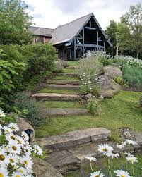 Mountain Landscaping Ideas Mountain Lodge Contemporary Landscape Burlington By Wagner