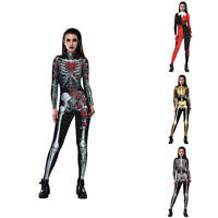 womens skeleton jumpsuit skeleton bone frame jumpsuit bodysuit fancy dead