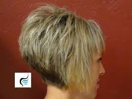 back view of short hairstyles stacked hairstyles ideas