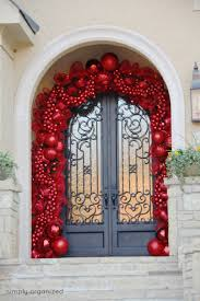 christmas christmas door decorating ideas best decorations for