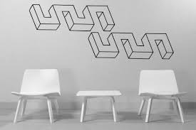 optical illusion wall stickers wall murals you ll love 20 inspirations optical illusion wall art ideas
