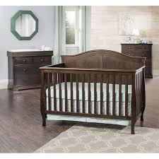 Convertible Crib Set 3 Convertible Crib Set Brown