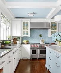 pastel kitchen ideas white kitchen with pastel blue cabinets and tiles beautifull