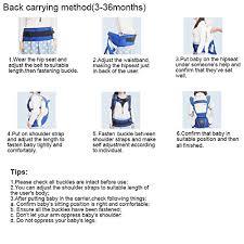 si e ergonomique threeh porte bébé siège ergonomique de la hanche 3 de