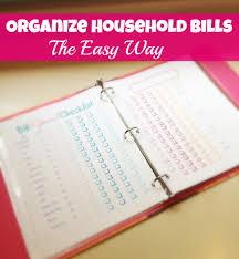 way bills online organize household bills the easy way