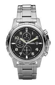 bracelet fossil steel images Mens fs4542 dean stainless steel chronograph watch by fossil ebay jpg