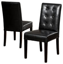 Genuine Leather Dining Room Chairs chairs amazing black kitchen chairs black dining chairs set of 6