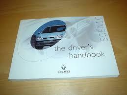 renault megane scenic owners manual handbook 1 4 1 6 u0026 2 0 litre